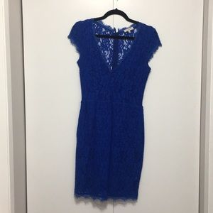 Blue Babaton dress from Aritizia